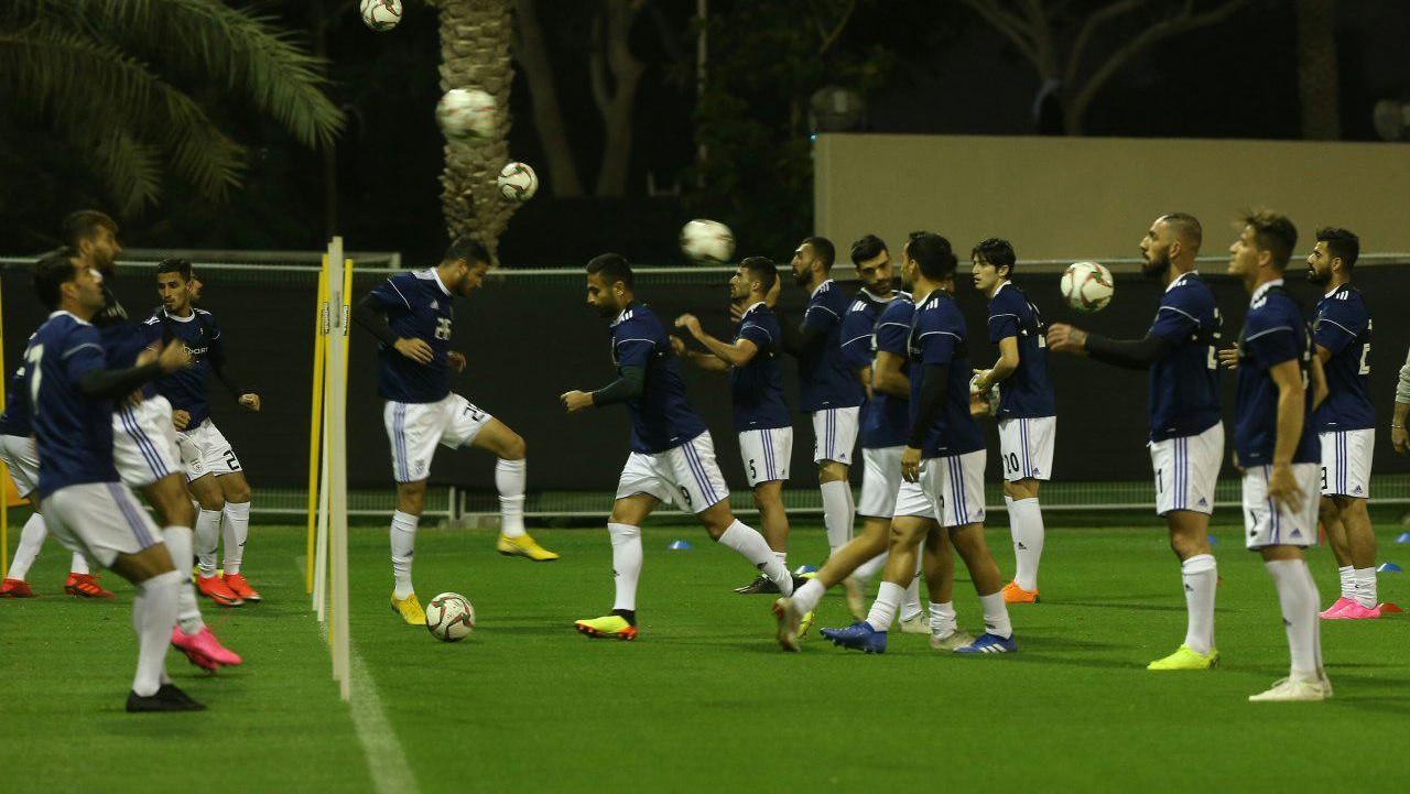 در تمرین تیم ملی فوتبال در ابوظبی چه گذشت؟+عکسها