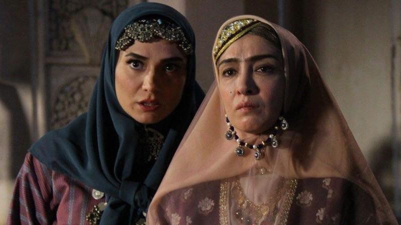 بازیگران زن سریال بانوی عمارت بدون گریم+عکسها