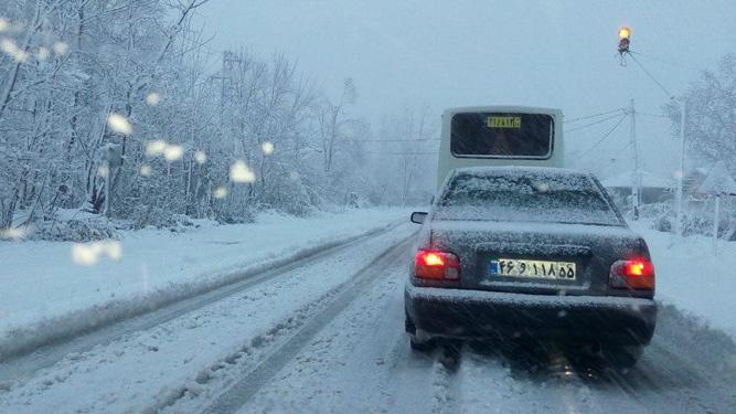 آخرین جزئیات از بارش برف در محورهای مواصلاتی کشور