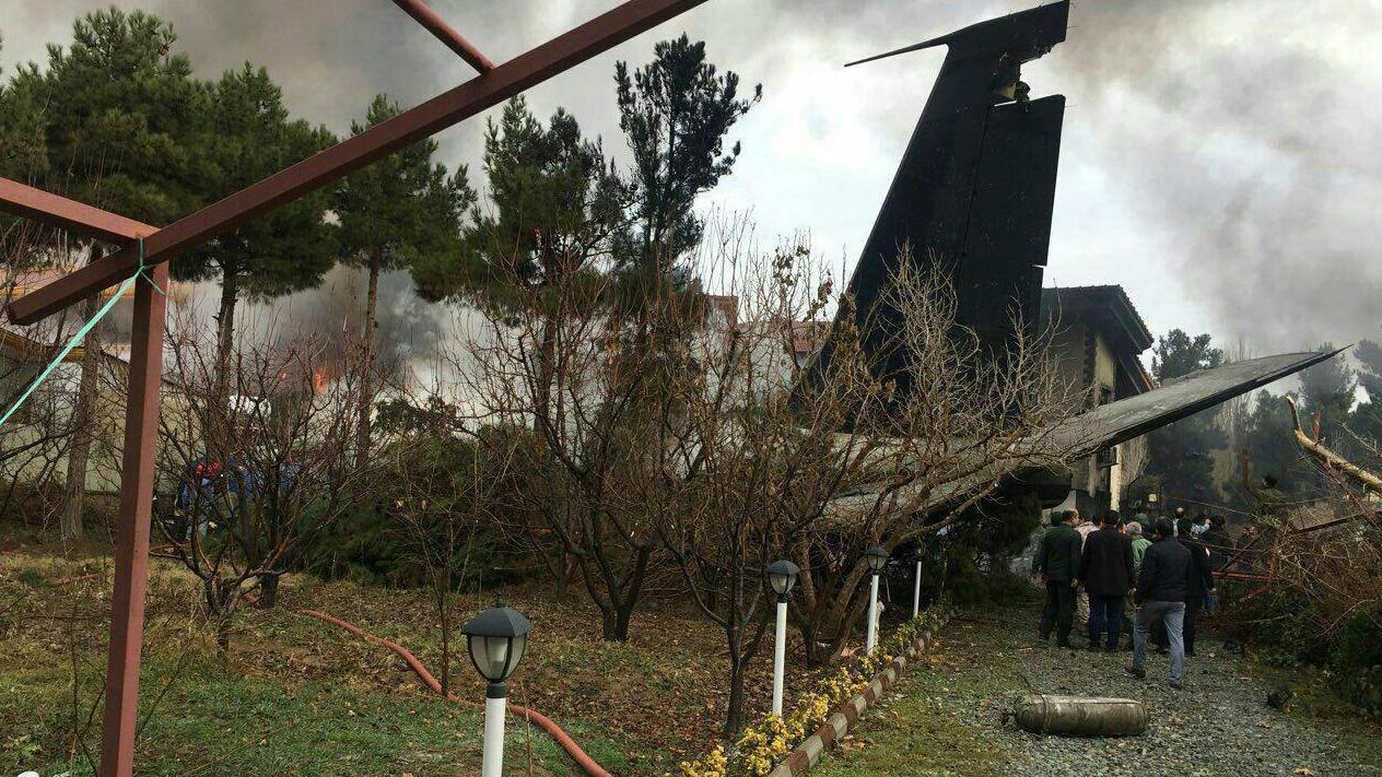 هنوز هیچ آمار رسمی دربارهی تلفات جانی سقوط هواپیما به ما گزارش نشده است