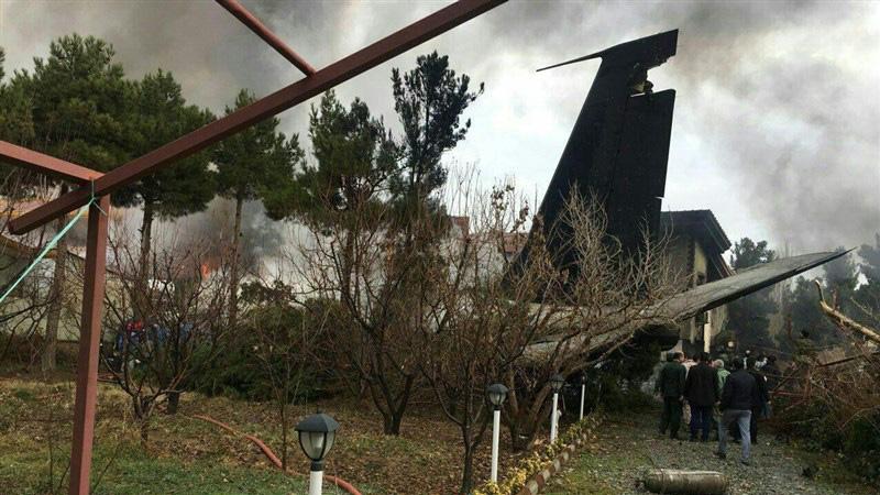 اسامی کامل جانباختگان سانحه سقوط هواپیما