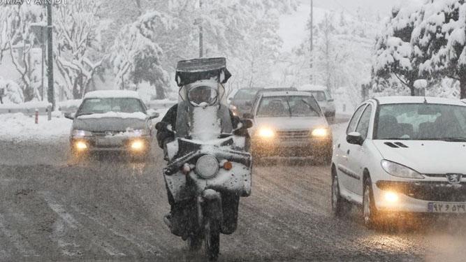 بیشتر مناطق کشور آخر هفته برفی است