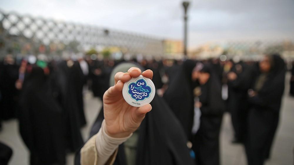 حجاب، یک موضوع عقلانی است+عکس ها و فیلم