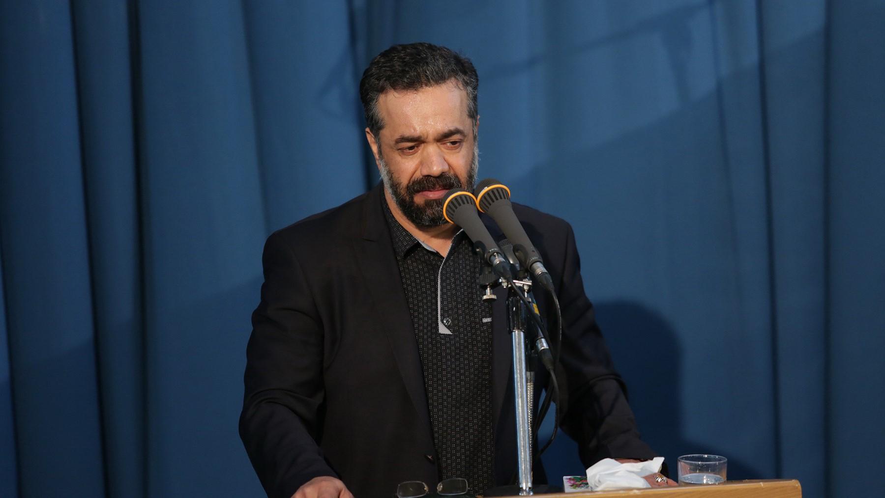مداحی محمود کریمی فاطمیه اول+صوت