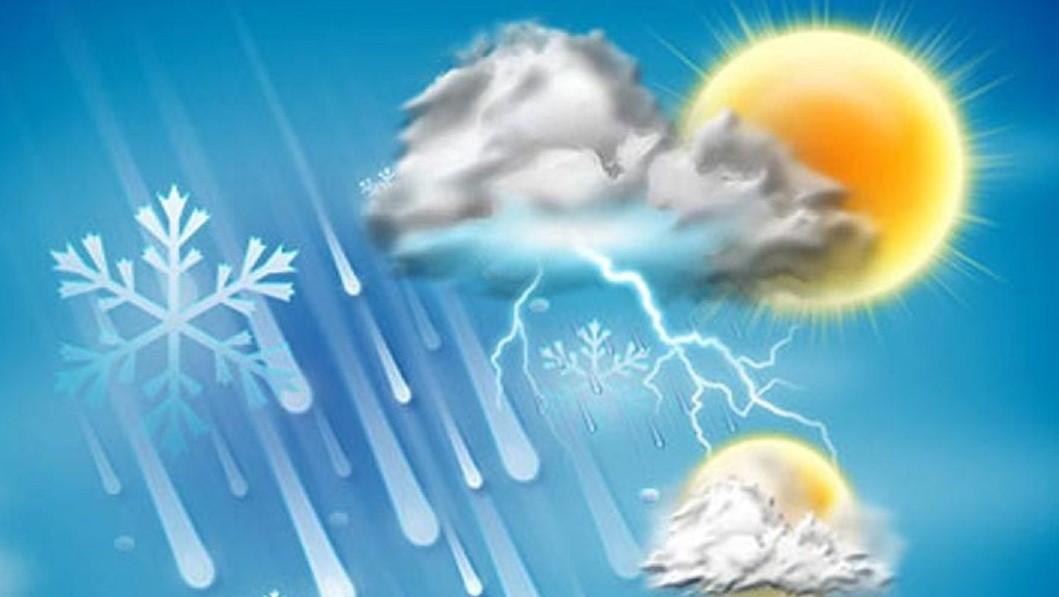 آخرین وضع آب و هوای کشور در ۲۵ دی ماه+جدول