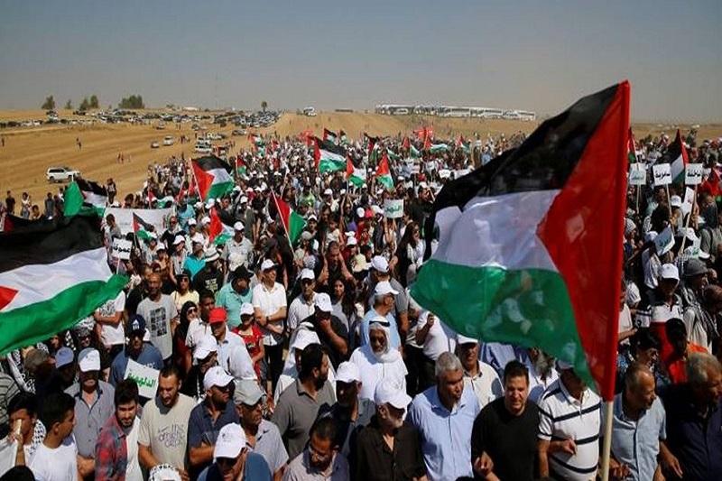 11 نفر  در چهل و سومین راهپیمایی حق بازگشت غزه زخمی شدند