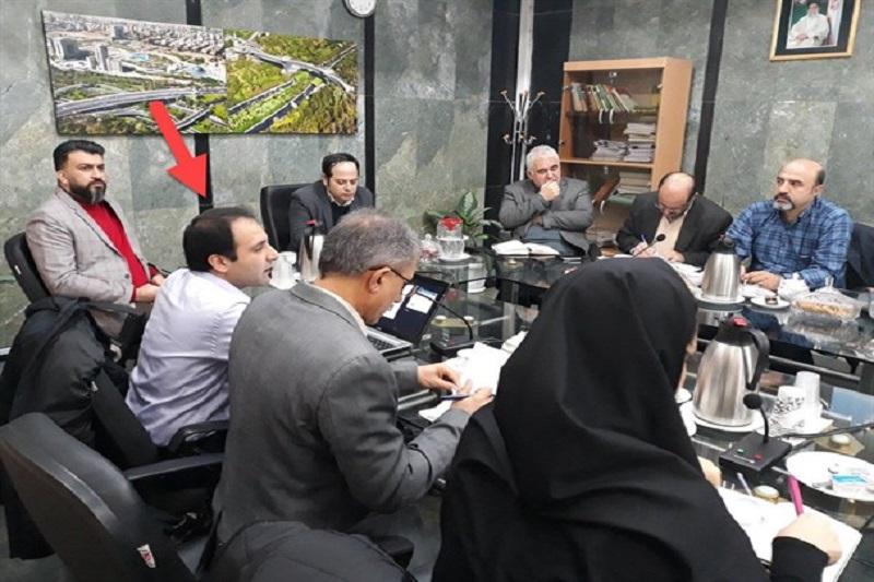 حضورتأمل برانگیز  مجرم امنیتی فتنه 88 در شورای شهر تهران