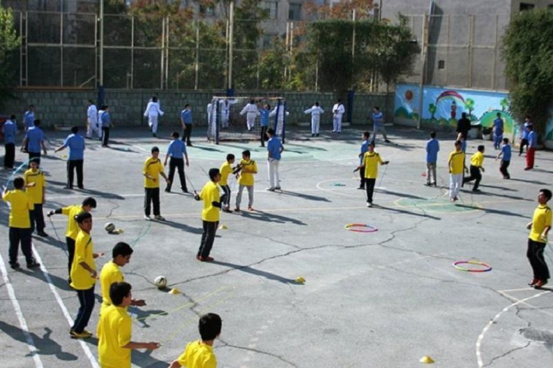 زنگ ورزش مدارس شهر تهران فردا لغو شد