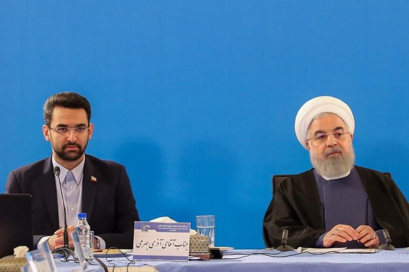 اشتباه جالب حسن روحانی، در جلسه دیدار با مدیران ارشد وزارت ارتباطات+فیلم