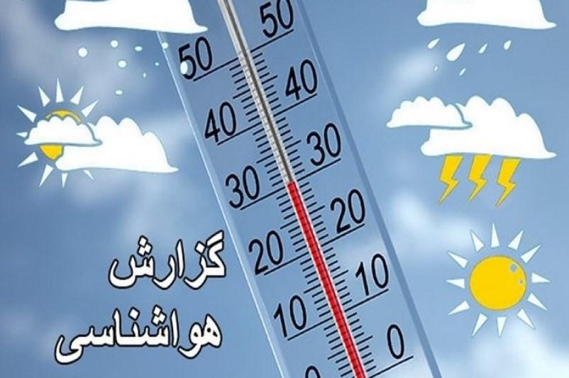 آخرین وضع آب و هوای کشور در ۲ بهمن ماه+جدول