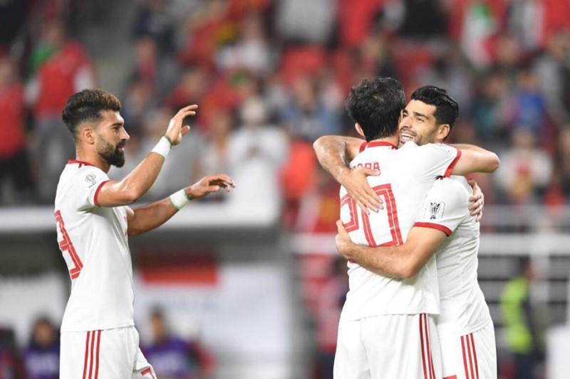 دیدار تیمهای فوتبال ایران و چین +عکسها