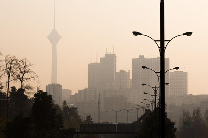افزایش آلودگی تهران در روزهای پنجشنبه