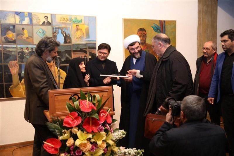 افتتاح نمایشگاه پلاک ۴۰ همزمان با پیروزی انقلاب اسلامی