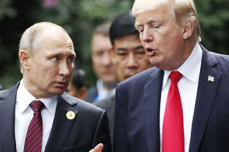 مخفیکاری دوباره ترامپ در دیدار با پوتین