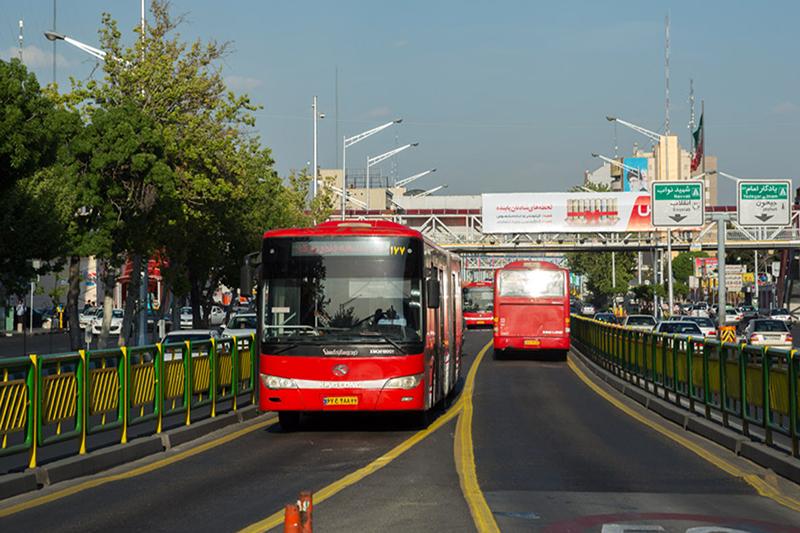 مسیرهای اتوبوس رانی برای انتقال شهروندان به مراسم ۱۲ بهمن