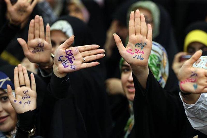 اجتماع ۵۰۰۰ نفری «دختران انقلاب» در تهران برگزار شد