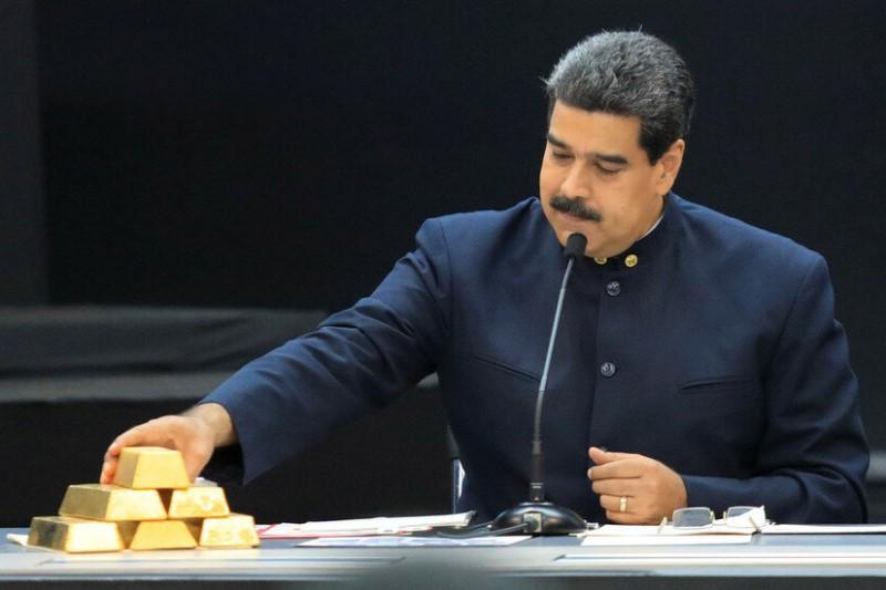 3 تُن طلای ونزوئلا به امارات فروخته شد