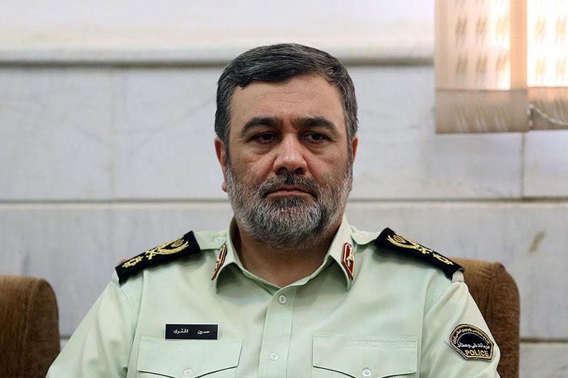 ترور فرمانده نیروی انتظامی صحت ندارد