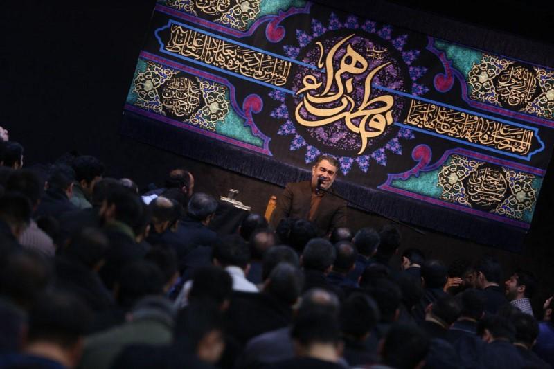 مداحی حسن خلج؛ روضه حضرت زهرا (س)+صوت