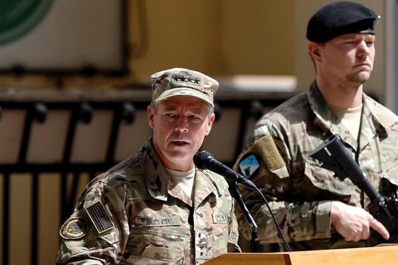 بی اطلاعی فرمانده نیروهای آمریکایی در افغانستا از  فرمان کاهش نیروها