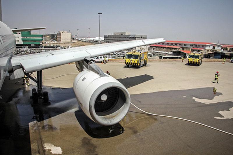 هواپیمای کویتی در فرودگاه زاهدان فرود اضطراری کرد