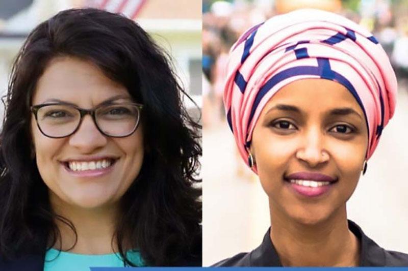 2 نماینده مسلمان کنگره برای تحریم رژیم صهیونیستی کمپین تشکیل دادند
