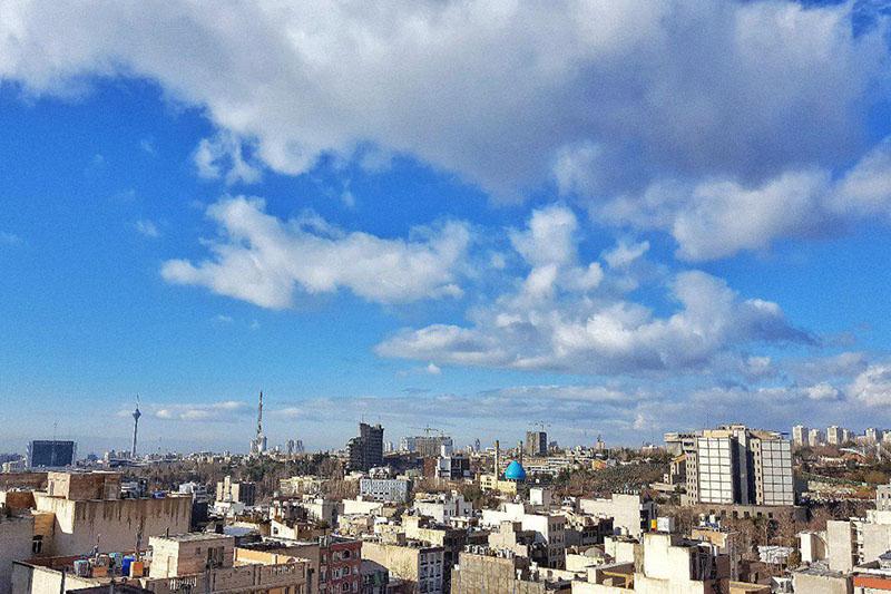 هوای تهران در شرایط پاک قرار گرفت