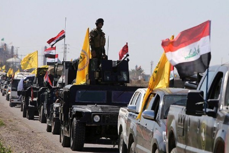 8 نیروی حشد شعبی بر اثر انفجار بمب در صلاحالدین عراق به شهادت رسیدند