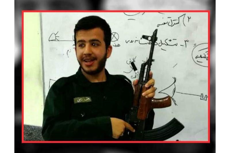 جوانترین شهید حادثه تروریستی زاهدان