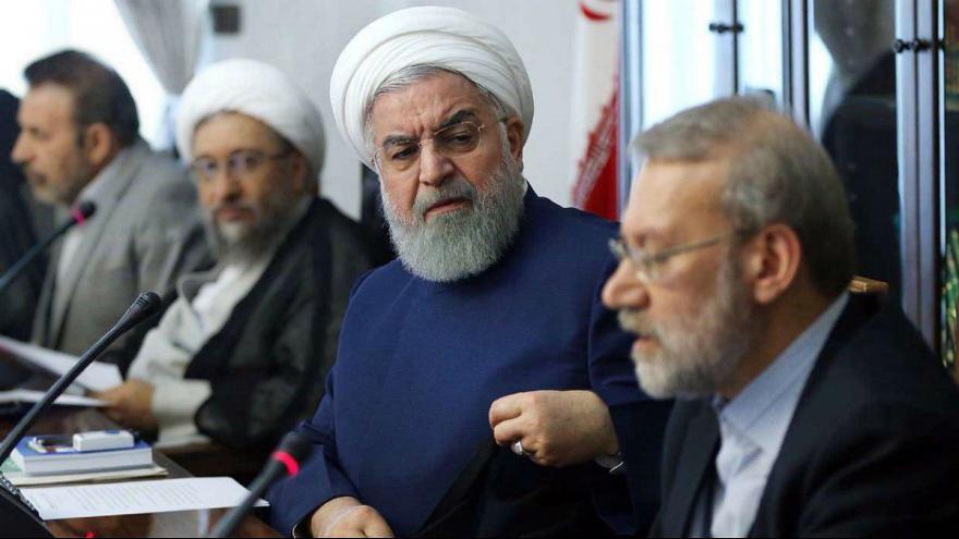 روحانی، لاریجانی و ظریف جا زدند!