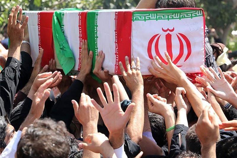 تشییع شهدای جنایت تروریستی زاهدان در اصفهان