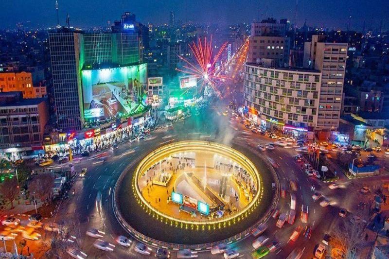 طرح توقف ممنوع در میادین شهر تهران کلید خورد