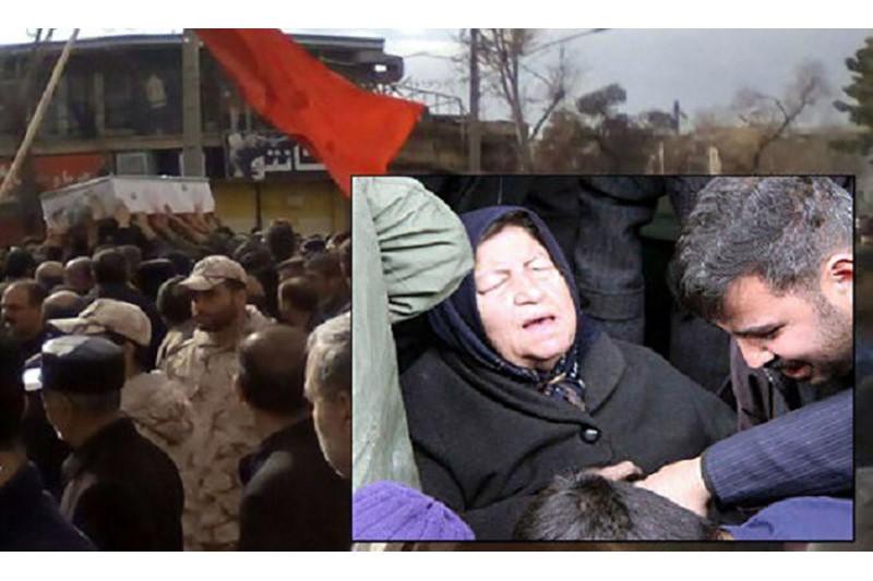 مادر شهید«عبدالرضا بروجی» دارفانی را وداع گفت