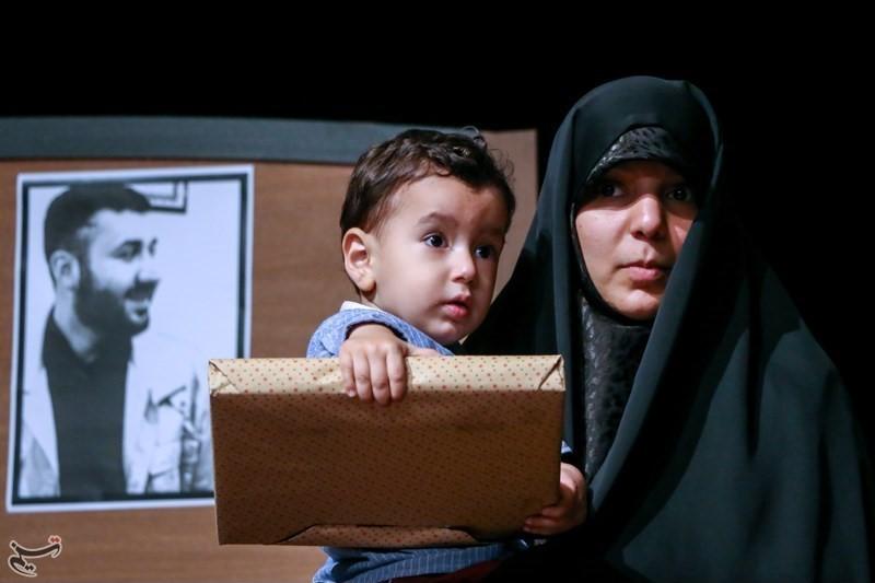همسر شهید از زخم زبانهای تلخ مردم نوشت+تصاویر