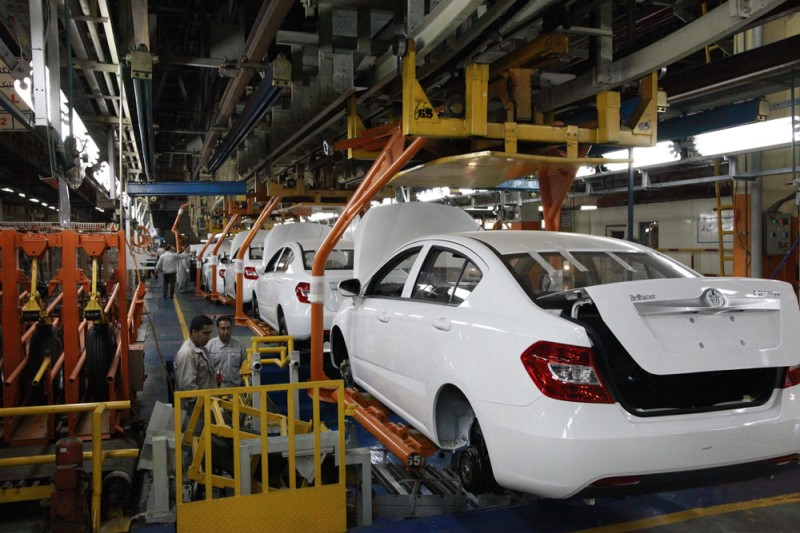 سایپا به رکورد تولید ۲ هزار دستگاه خودرو در روز رسید