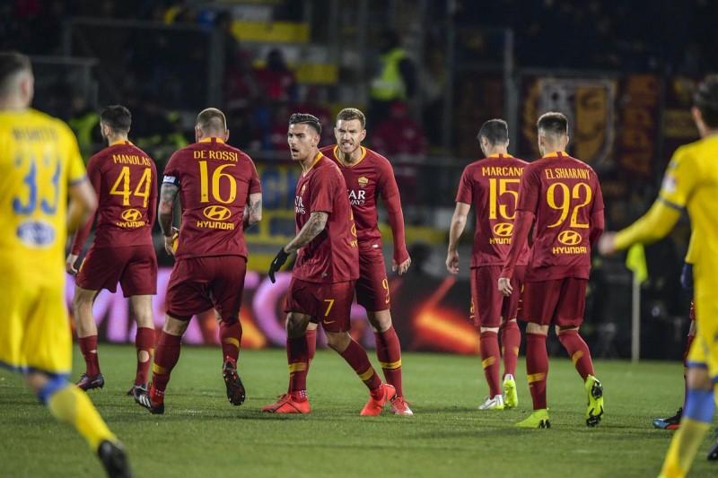 پیروزی رم مقابل فروزینونه در سری آ