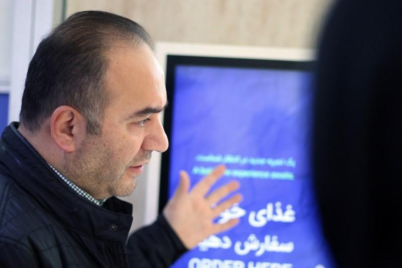 اولین نرمافزار تحت وب مدیریت رستوران «شرکت سپیدز» در برج میلاد تهرانرونمایی شد