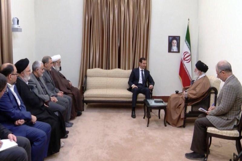واکنش رسانه های خارجی از دیدار رهبر انقلاب با بشار اسد