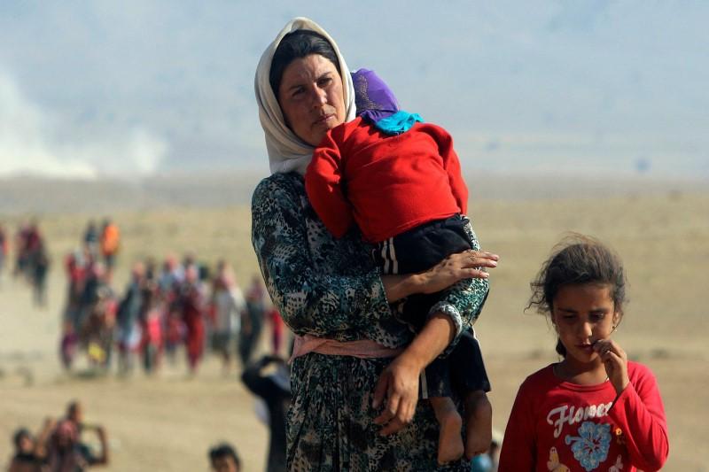 داستان دردناک «مروه خدر» ۱۰ ساله و صدها زن و دختر ایزدی از بردگی در دست داعش+تصاویر
