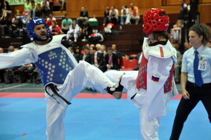 قهرمانی ایران در رقابت های پاراتکواندو