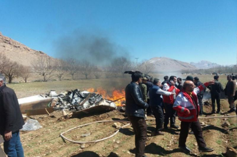 اسامی شهدای حادثه سقوط بالگرد اورژانس اعلام شد