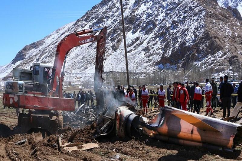 آخرین لایو اینستاگرامی شهید سقوط بالگرد اورژانس+عکس
