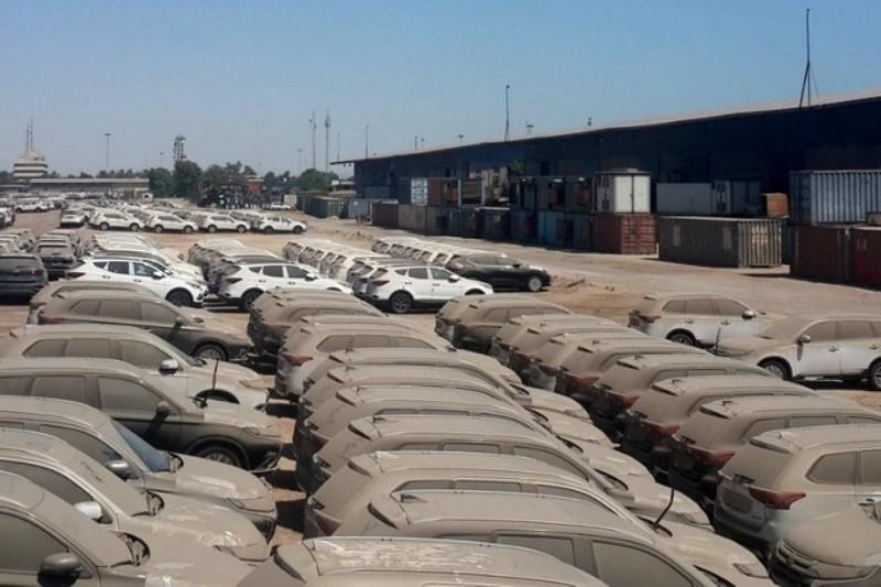 ترخیص مشروط خودروهای دپو شده در گمرک