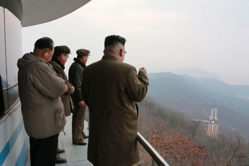 شکست در مذاکرات با آمریکا و بازسازی تاسیسات پرتاب موشک  بالستیک قارهپیما در کره شمالی+تصاویر