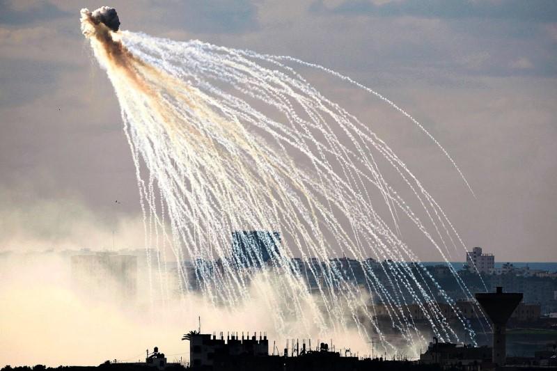 استفاده جنگندههای ائتلاف غربی  از  بمبهای (فسفری) در سوریه