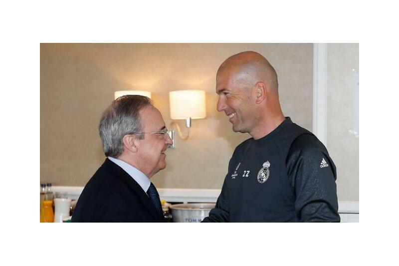 تلاش رئیس باشگاه مادرید برای بازگشت زیدان برای هدایت تیم