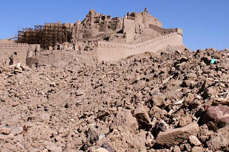 هراس از وضعیت بناها و آثار تاریخی با وقوع زلزله