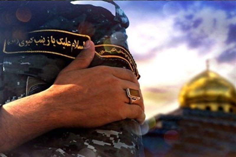 حضور متفاوت مدافع حرم در روز  ازدواج دخترش+تصاویر