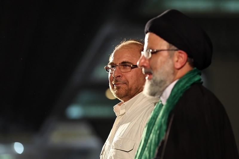 واکنش قالیباف به انتصاب رئیسی در ریاست قوه قضاییه+عکس