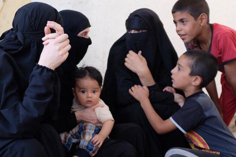 زنان داعشی تهدید به انتقام میکنند!